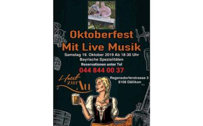 Oktoberfest Mit Live Music