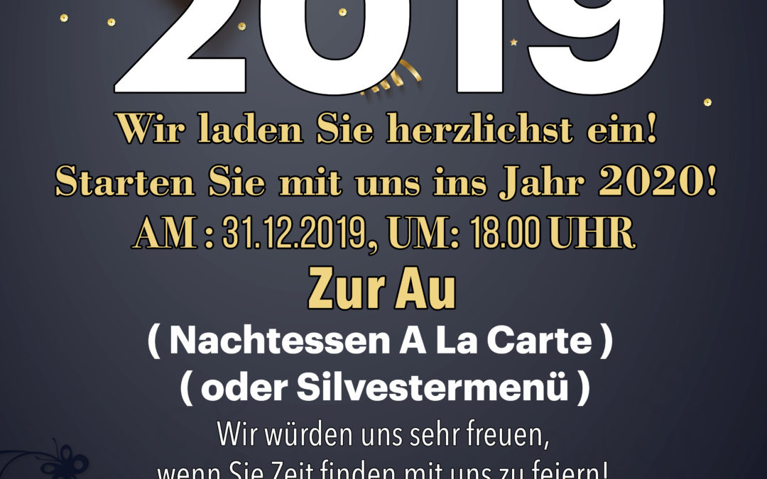 Silvesterabend mit Evergreen-Kudi 2019