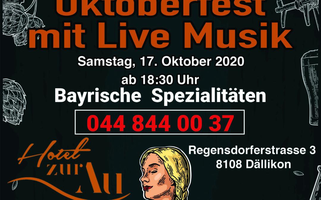 Oktoberfest mit Live Musik