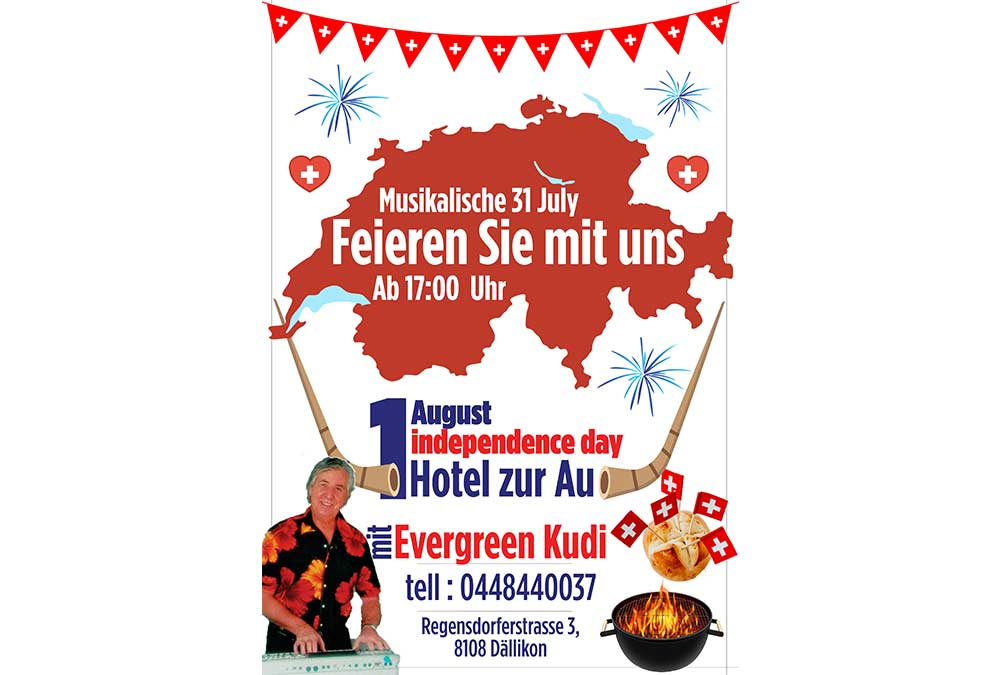Swiss National Day 1.aug 2019