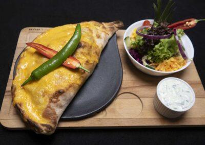 Pizza Calzone Mexiko