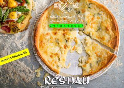 zur au restaurant | pizza Quattro Formaggi
