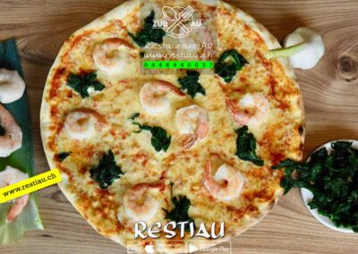zur au restaurant | pizza Del nono