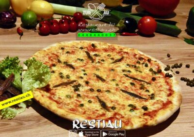 zur au restaurant | pizza Napoli