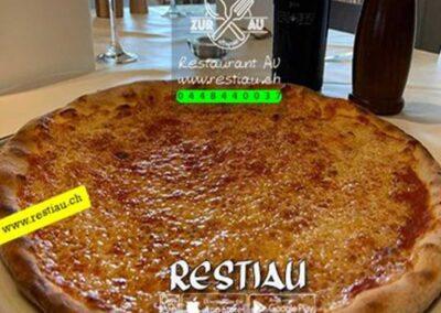 zur au restaurant | pizza Margherita
