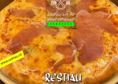 zur au restaurant | pizza Prosciuto Crudo