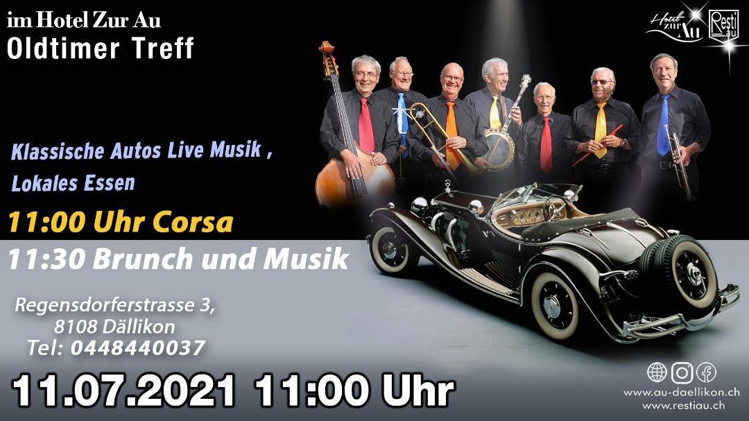 Oldtimer Treff – Klassische Autos Live Musik, Lokales Essen 11.07.2021