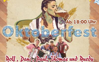 Oktoberfest mit Live Musik (11.09.2021)