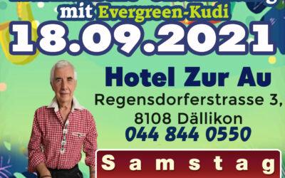 Musikalische Unterhaltung mit Evergreen Kudi (18.09.2021)