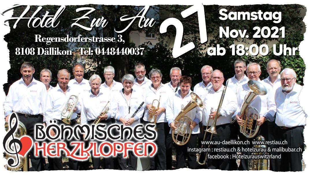 musikalische unterhaltung mit Böhmisches Herzklopfen (27.11.2021)